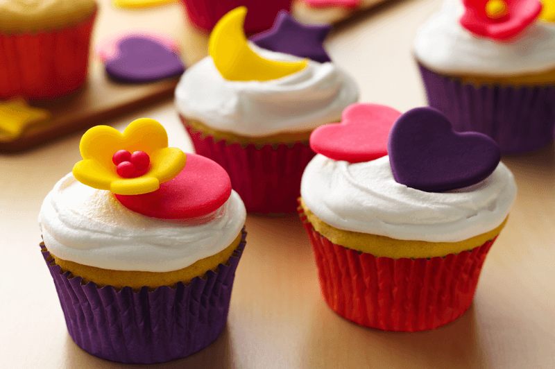 How to make small fondant flowers