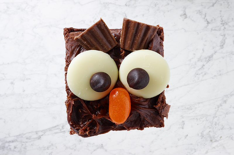 Owl Brownies
