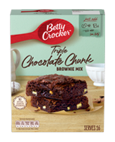 Triple Chocolate Chunk Brownie Mix