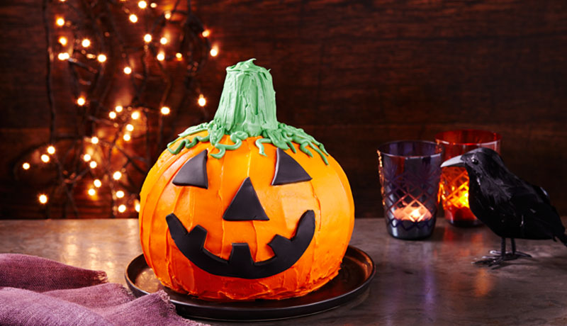 Halloween Pumpkin Cake Recipe Easy Cakes Betty Crocker