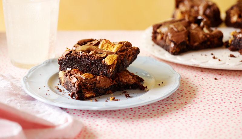 Loaded Chocolate Fudge Brownies Recipe Betty Crocker