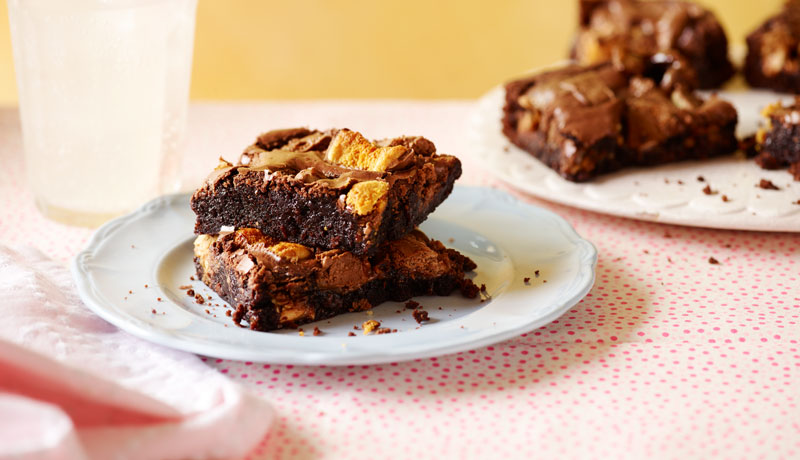 Loaded Chocolate Fudge Brownies