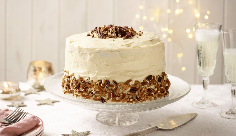 Sky-High Salted Caramel Chocolate Layer Cake