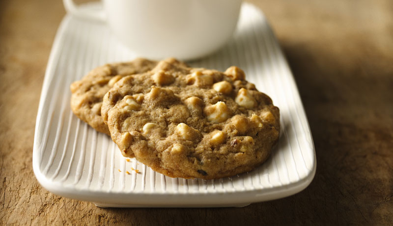 White Chocolate & Walnut Cookies