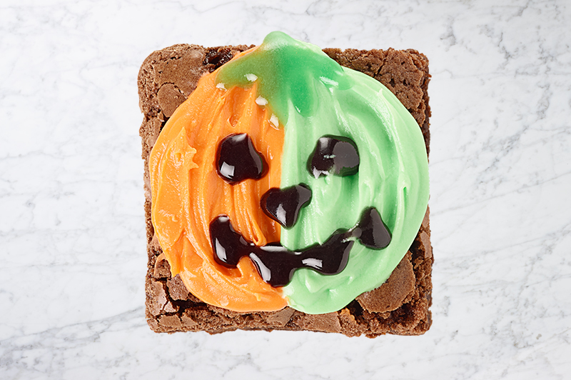 Pumpkin Brownie Two Colors