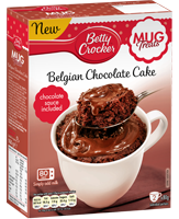 Belgian chocolate mug treat