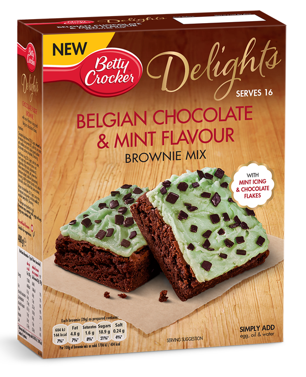 Belgian Chocolate Mint Brownie