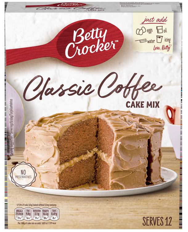 Betty Crocker Classic Coffee Cake Mix