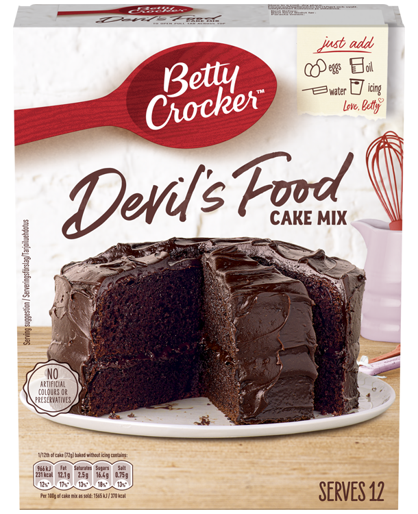Betty Crocker Chocolate Cake Mix Gluten Free