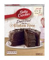 Betty Crocker Gluten Free Cake Mix Uk