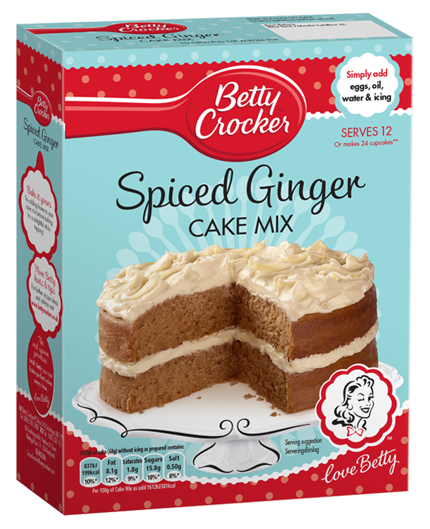 Spiced Ginger Cake Mix