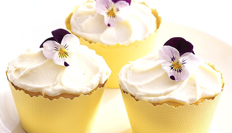 Betty Crocker Flower Cupcakes