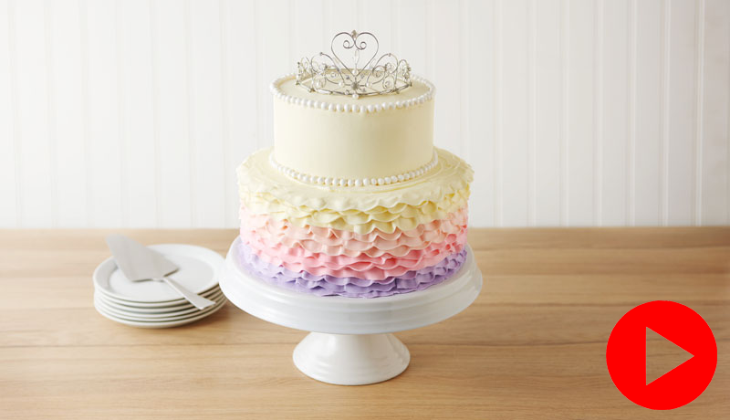 Betty Crocker Princess Tiara Cake