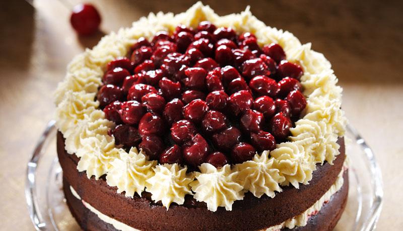 Black Forest Gateau Baking Recipes Betty Crocker Uk
