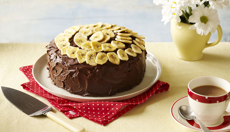 Chocolate and Banana Cake Recipe
