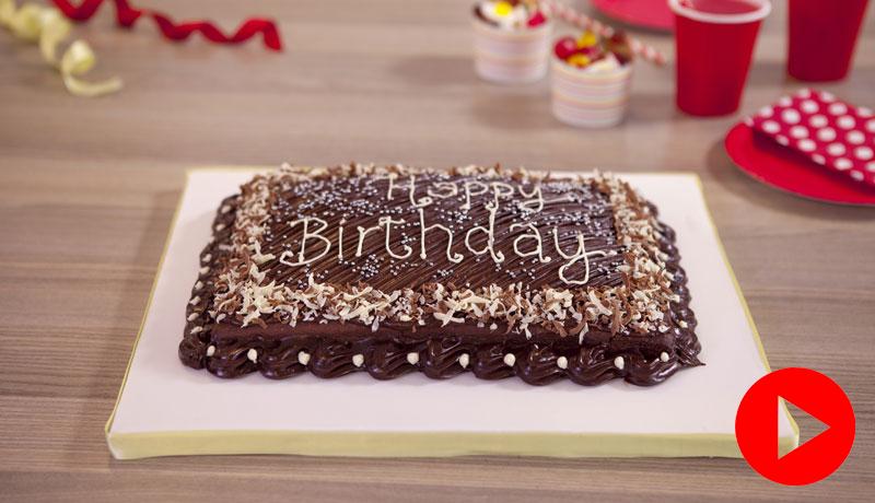 Chocolate Tray Bake Recipe Easy Baking Recipes Betty