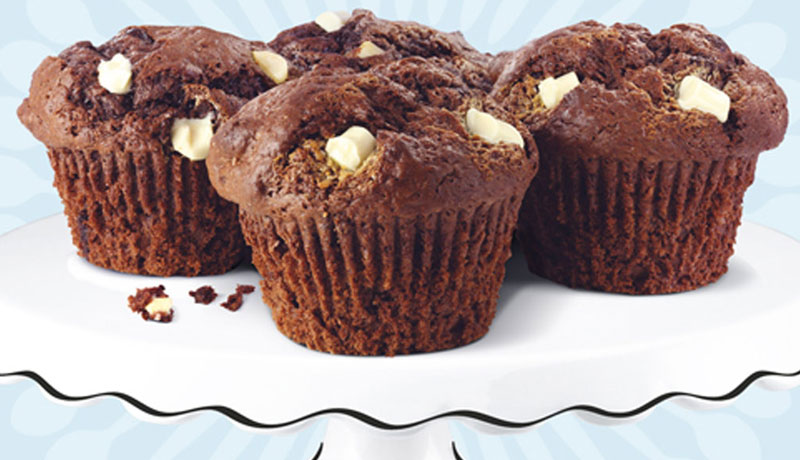 Chocolate chunk muffin mix recipe