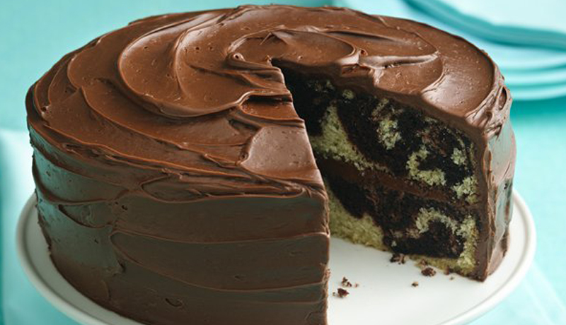 Chocolate Swirl Cake