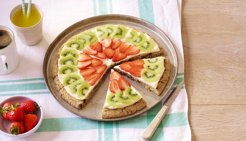 Cookie Fruit Pizza