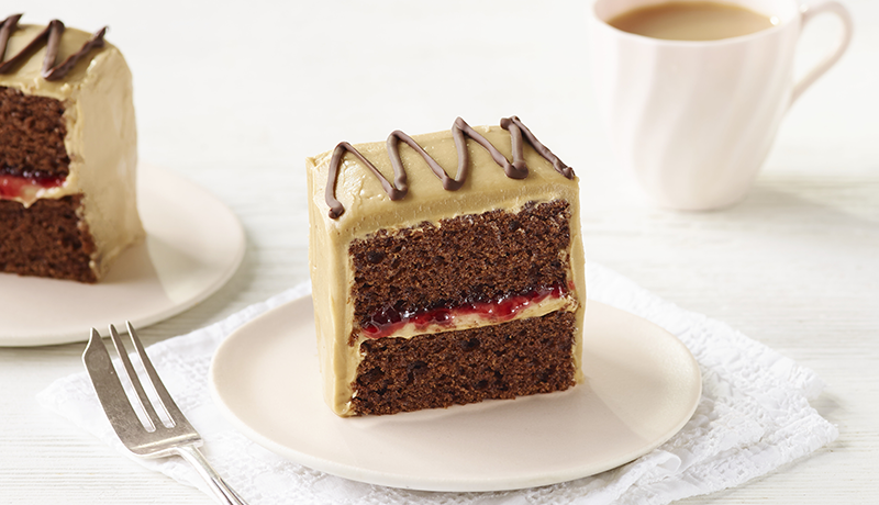 Mocha Cherry Cake Slice Recipe Easy Cakes Betty Crocker