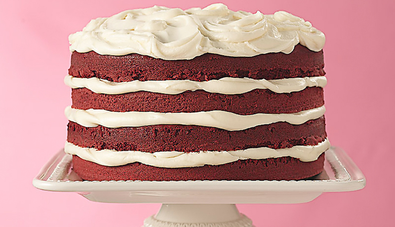 Fantastic Red Velvet Layer Cake Recipe Easy Cakes Betty Crocker Personalised Birthday Cards Rectzonderlifede