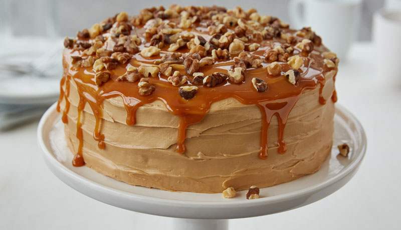 Salted Caramel Coffee Cake
