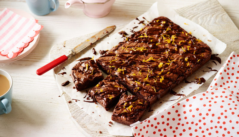 Simple Chocolate Orange Brownie